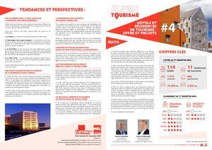 Flash Tourisme #4  Hôtels Et Résidences De Tourisme  Offre Et Projets