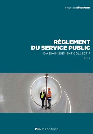 Règlement du service public d'assainissement collectif