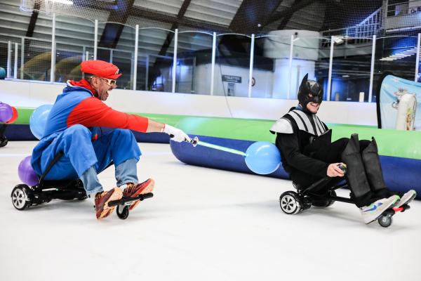 Nouvelle glisse à la patinoire Serge-Charles