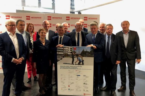 Le renouvellement urbain de six quartiers de la Métropole Européenne de Lille est lancé