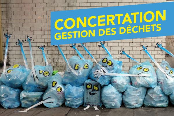 Participez à la concertation sur la nouvelle politique de gestion des déchets