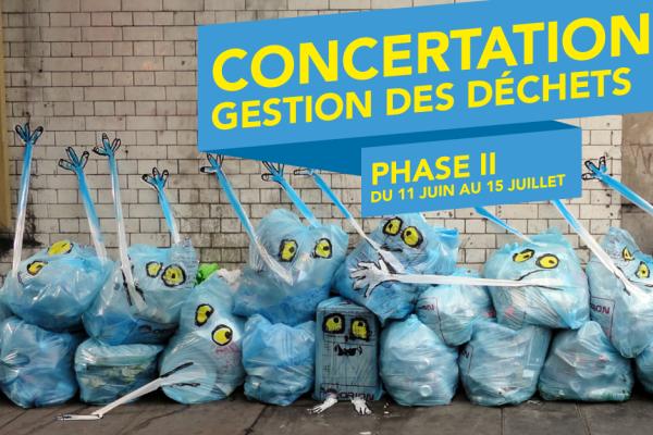 Nouvelle étape pour la concertation déchets : participez jusqu'au 15 juillet