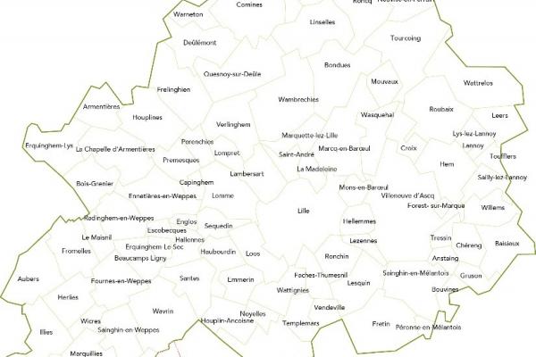 Bientôt 95 communes au sein de la Métropole Européenne de Lille
