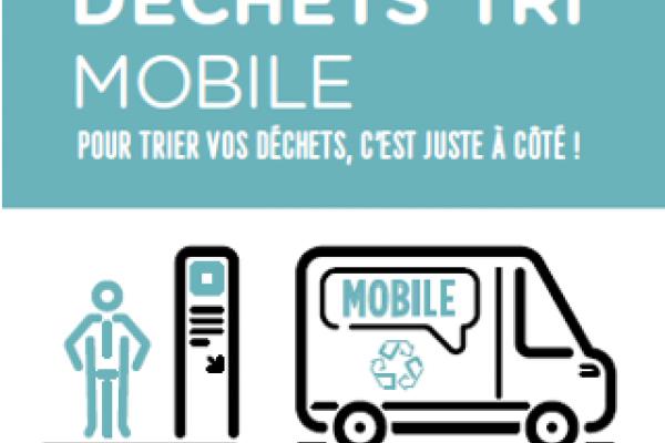 Reprise d'activité pour les Déchets'tri mobiles, un service proposé par la Métropole Européenne de Lille