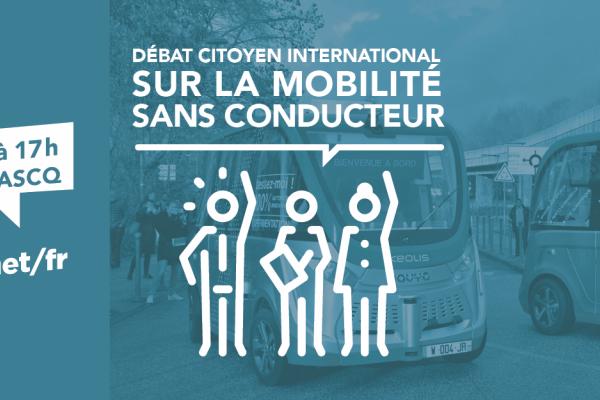Mobilité sans conducteur : Un débat citoyen à Lilliad le 27 avril