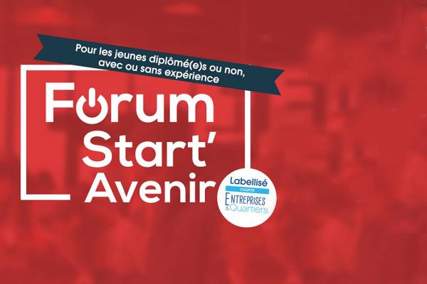 Forum Start'Avenir : plus de 500 offres de stages, d'alternances et de premiers emplois, jeudi 31 janvier de 10h00 à 17h30
