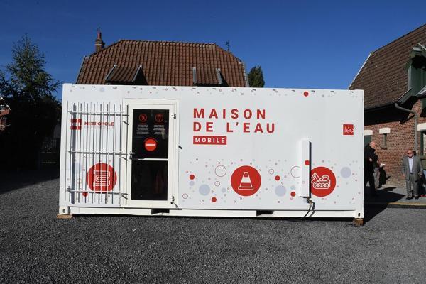 Maison de l'eau mobile : accueil de proximité et lieu pédagogique au service des habitants