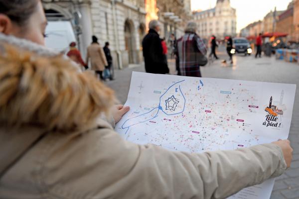 (Re)découvrez la ville de Lille à pied