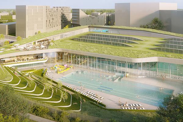 Futur piscine olympique : la MEL retient le projet de Rabot Dutilleul Construction