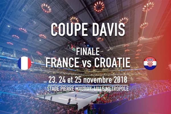 Coupe Davis : la MEL accueillera la finale