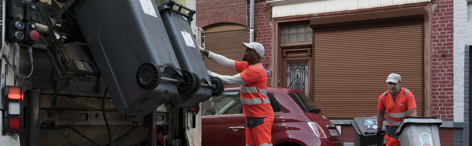 Poubelles Noires De Jardin collecte des déchets ménagers | métropole européenne de lille